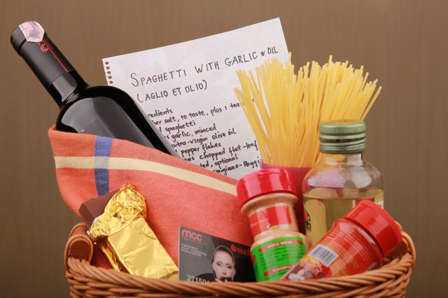 Gift Basket Ideas For Couples With Pictures Ehow