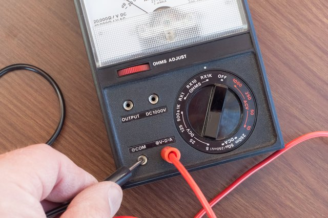 Check Ac Capacitor With Multimeter : How to check an air conditioner capacitor with a