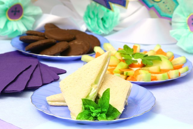 food to serve at a baby shower
