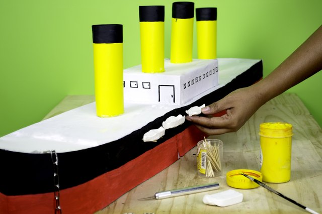 How to make a paper model of the titanic with pictures ehow