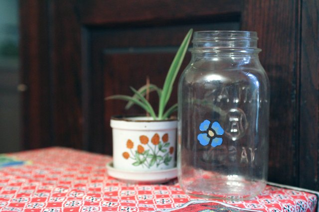 how to use enamel paint on glass ehow