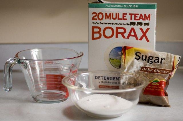 how to change borax into boric acid