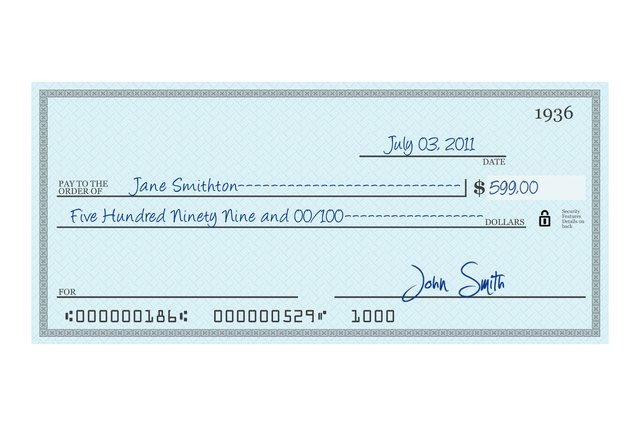 how to write a check for 200 dollars