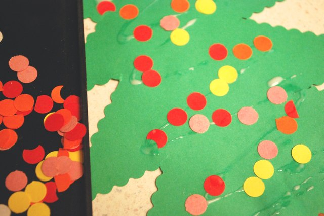 = Homemade Construction Paper Christmas Decorations  eHow