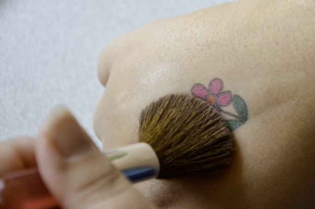 Homemade Fake Temporary Tattoos Using Household Items