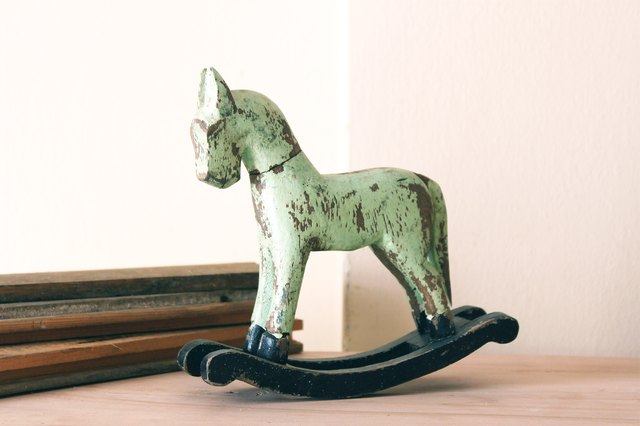 Rocking horses will be treasured for generations.(Agustina Dowling ...