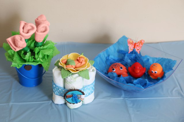 Do it yourself centerpieces for a baby shower luz diaz demand media