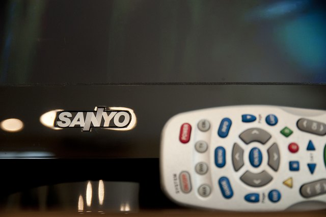 How to set up a sanyo tv