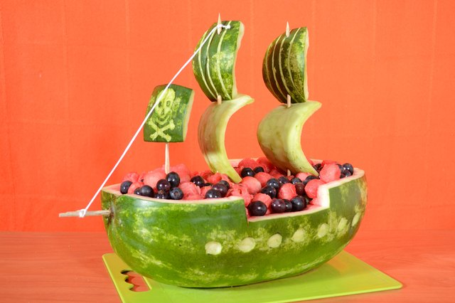 Pin Watermelon Boat Carvings on Pinterest