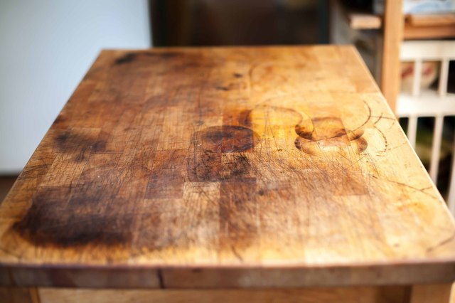 how to refinish a butcher block with pictures ehow
