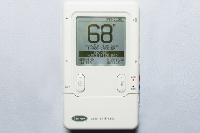 How To Reset A Carrier Infinity System Thermostat Ehow