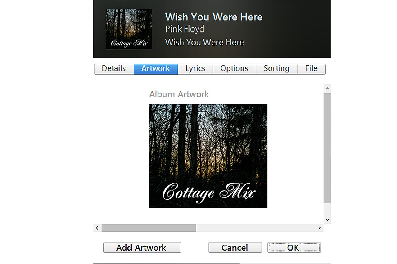 How Do I Make A Cd Cover On Itunes With Pictures Ehow