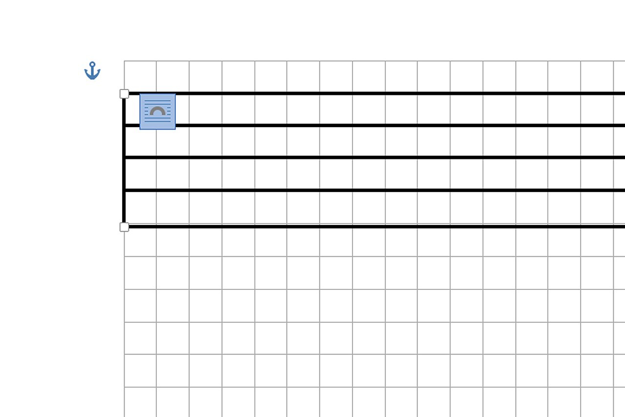 Drawing Vertical Lines In Html : How do i make a music staff in microsoft word ehow