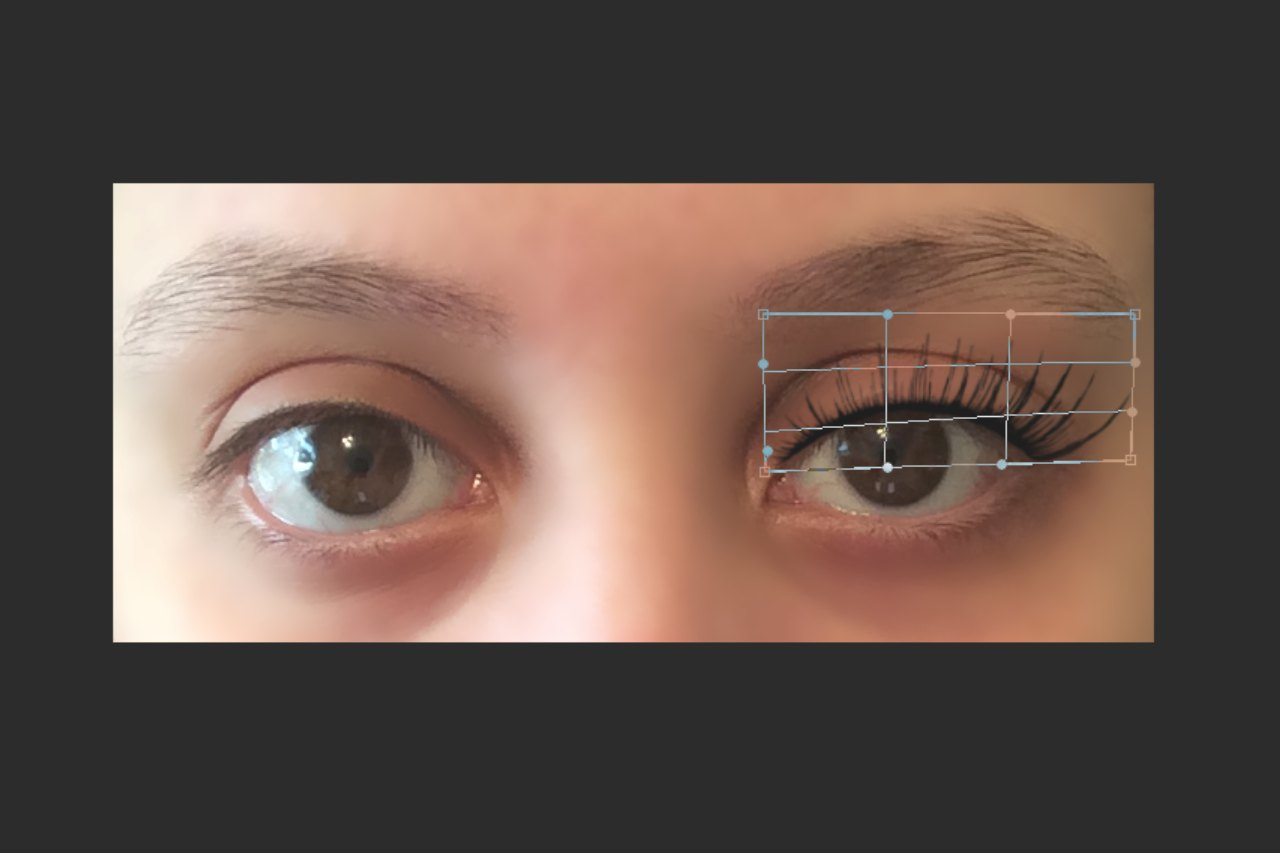how to draw eyelashes in photoshop