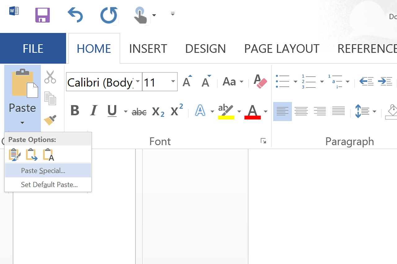 how to write picture courtesy in ms word