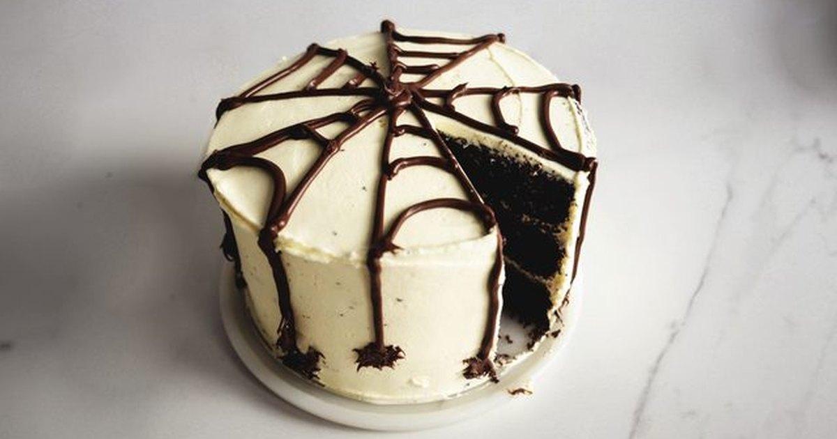 C mo hacer un pastel de tela de ara a para halloween - Como hacer tela de arana ...