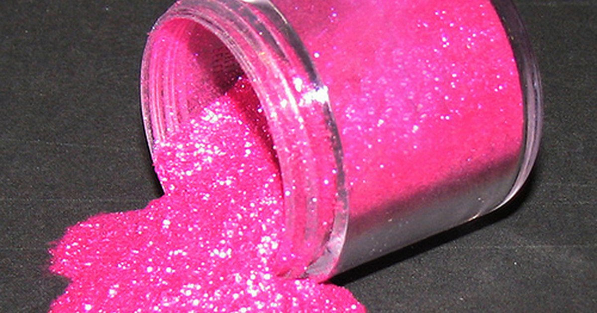 What Is Glitter Made From Ehow Uk