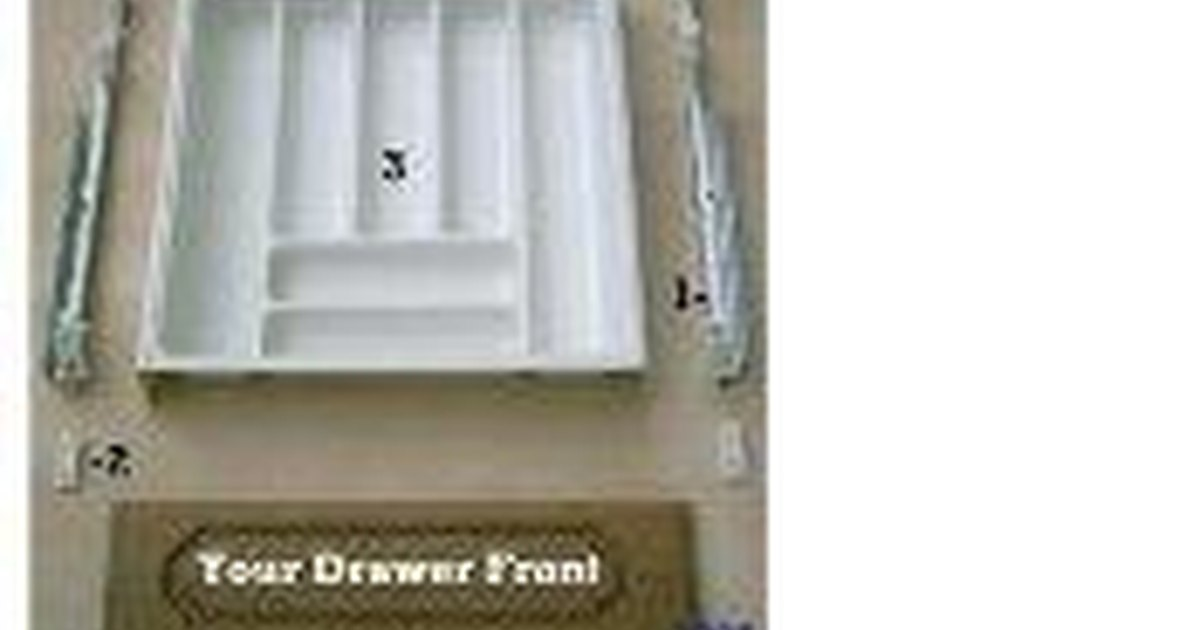How To Replace Old Plastic Kitchen Cabinet Drawers Ehow Uk