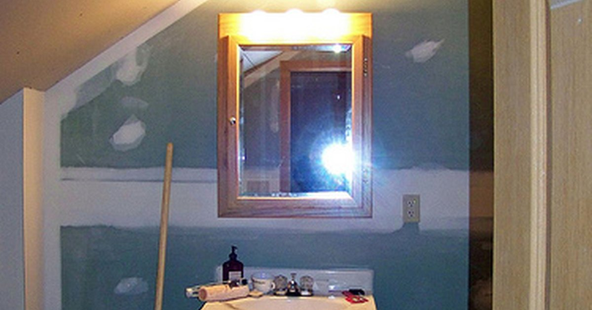 How To Install Lighted Bathroom Mirror EHow UK