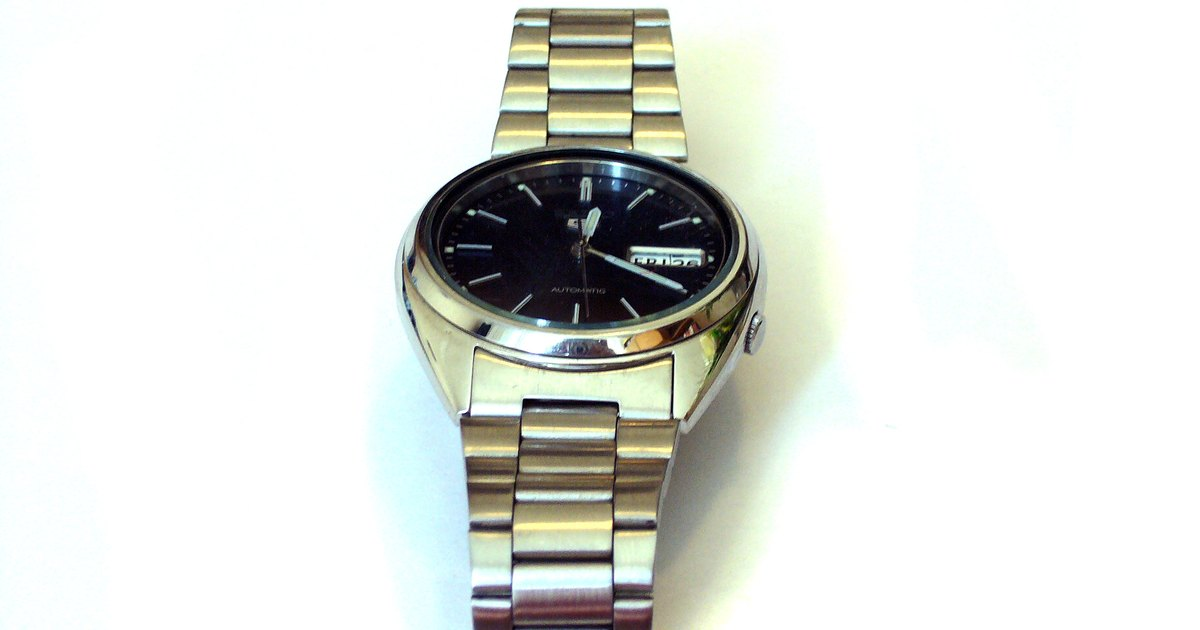 How To Remove Links On A Seiko Watch Bracelet Ehow Uk