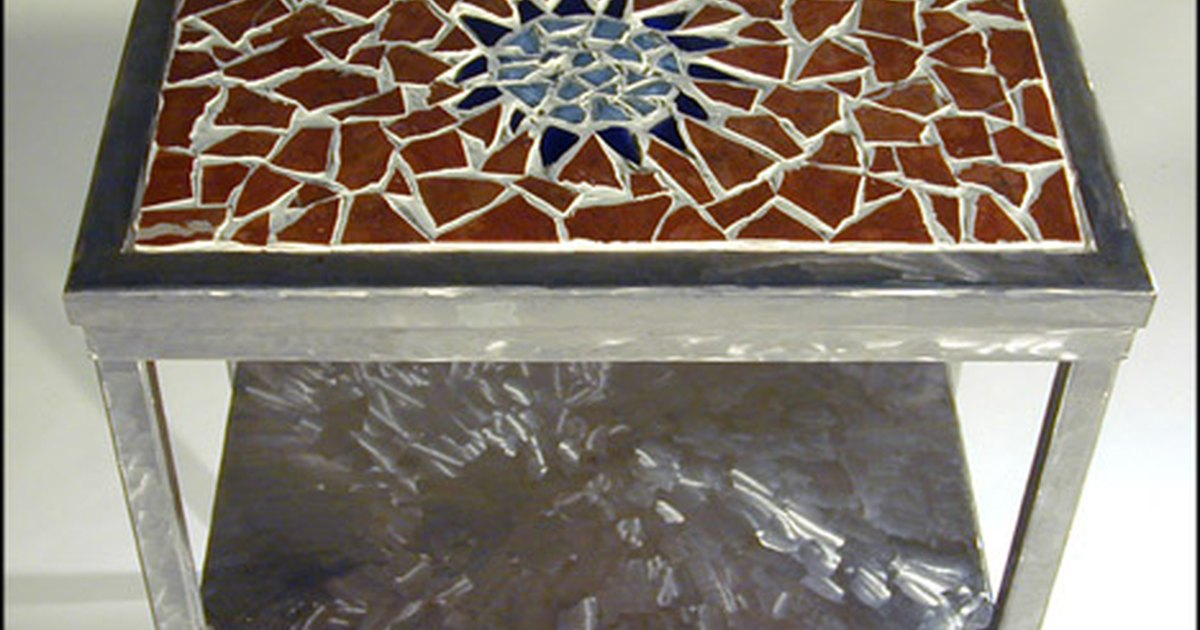 diy mosaic table tops ehow uk