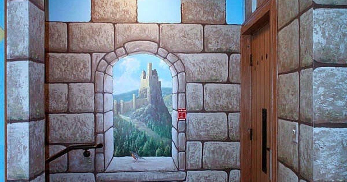 C mo pintar paredes falsas de castillo ehow en espa ol - Aprender a pintar paredes ...