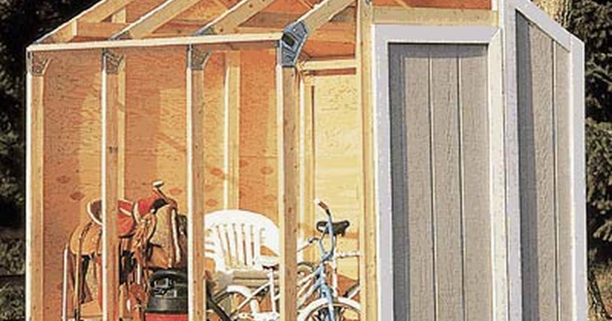 how to build trusses for 8x8 shed