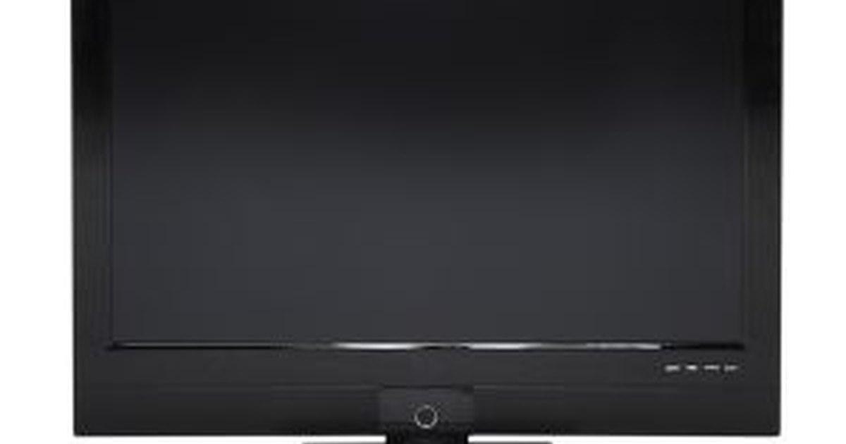 Solucionar problemas en una tv sharp pantalla plana ehow - Television pequena plana ...