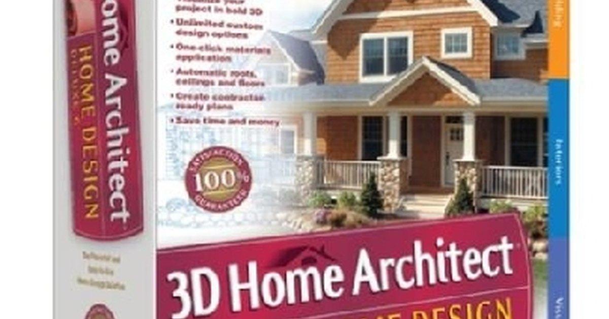 How to draw my own building plans ehow uk for Broderbund 3d home landscape design