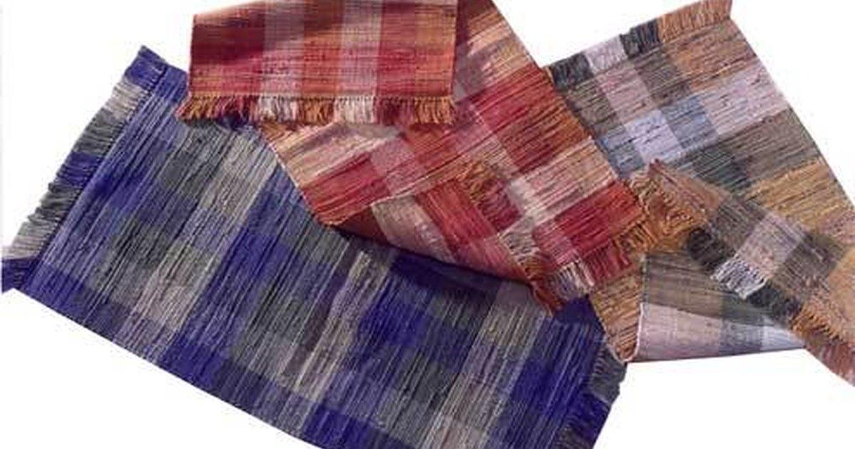 clean cloth cotton strips