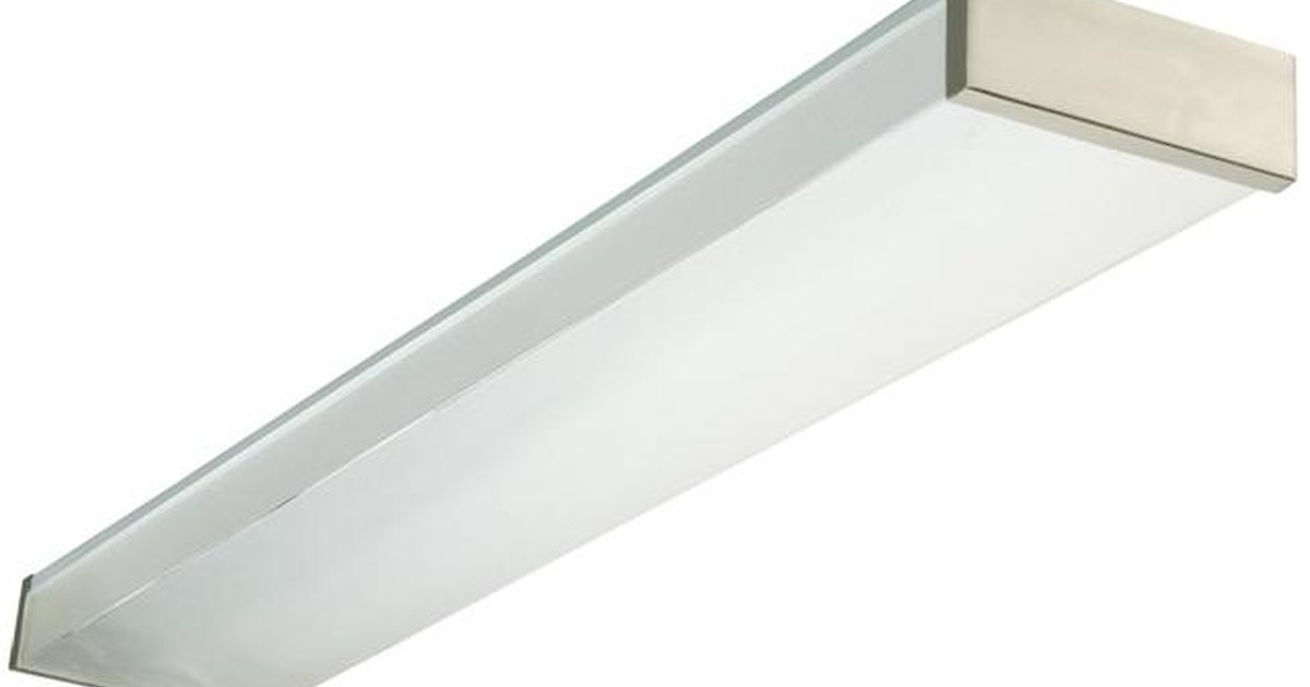 how to install the cover plate for a fluorescent light ehow uk
