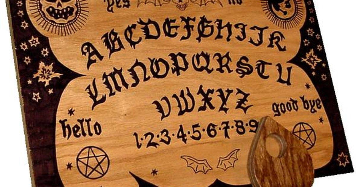 How to play ouija board ehow uk - La tavola di ouija ...