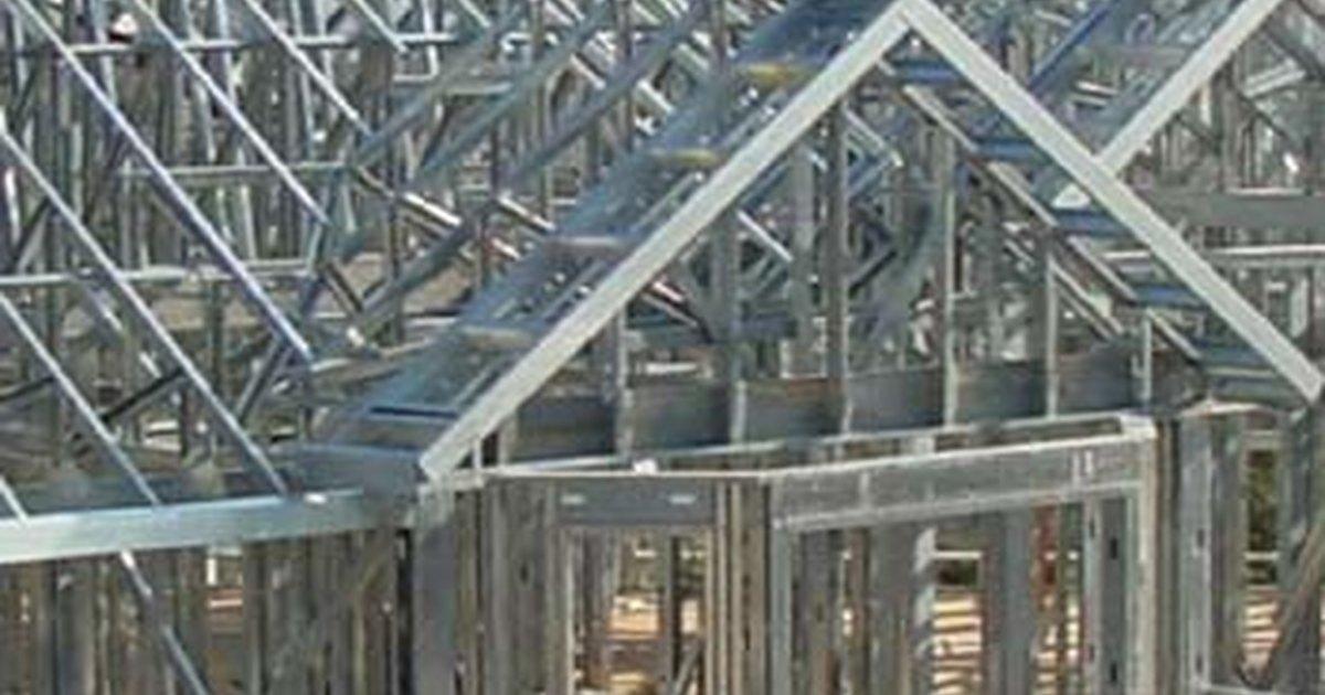 Building Metal Frame Houses Ehow Uk