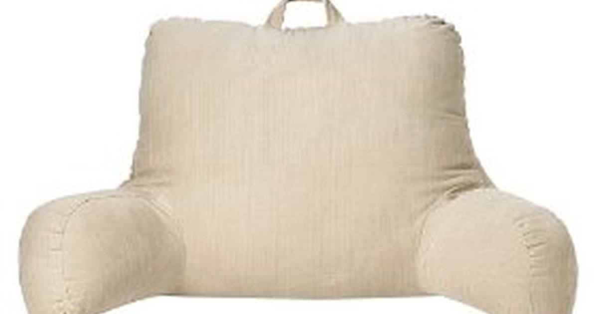 how to sew a bed rest pillow ehow uk