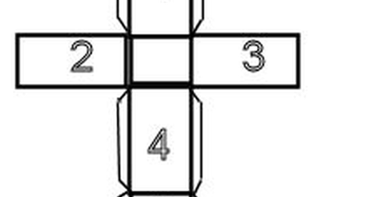 C mo hacer un prisma rectangular de papel ehow en espa ol for Como hacer un sobre rectangular
