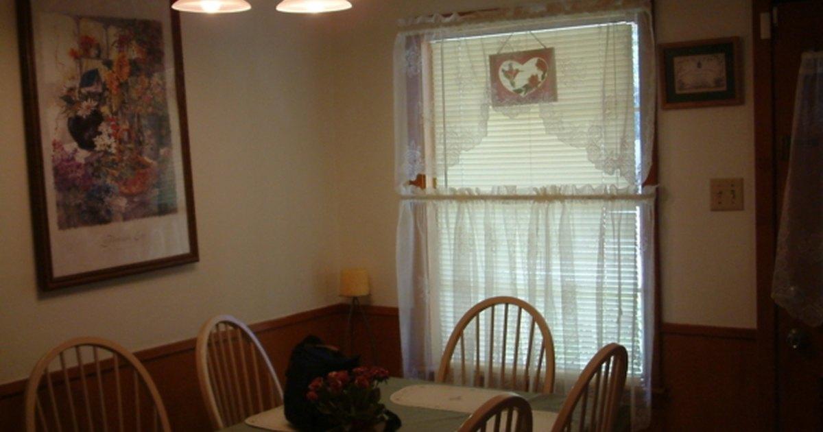 C mo hacer una cortina con volantes para la cocina ehow - Cortinas con volantes ...