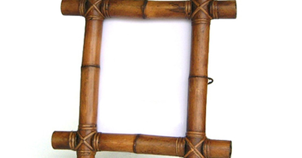 How To Make Bamboo Picture Frames Ehow Uk