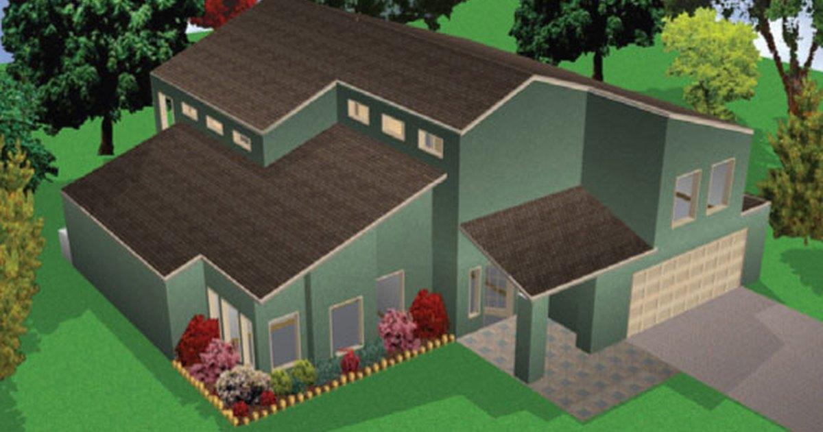 C mo hacer planos para construir una peque a casa ehow for Programa para disenar planos en 3d
