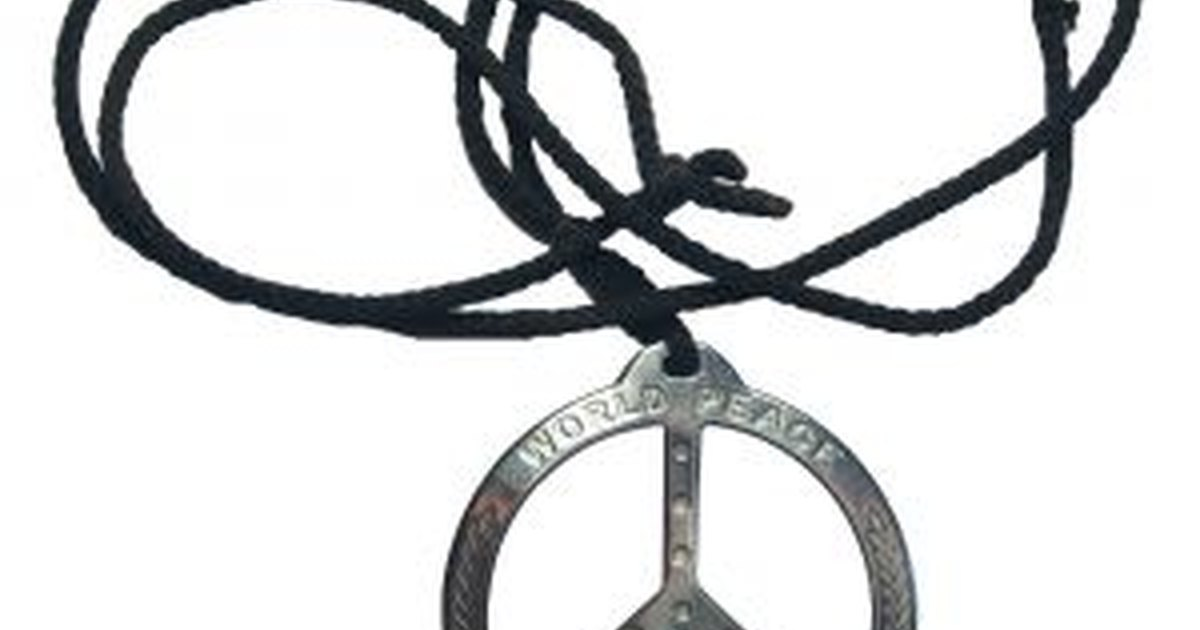 How To Make A Peace Sign Necklace Ehow Uk