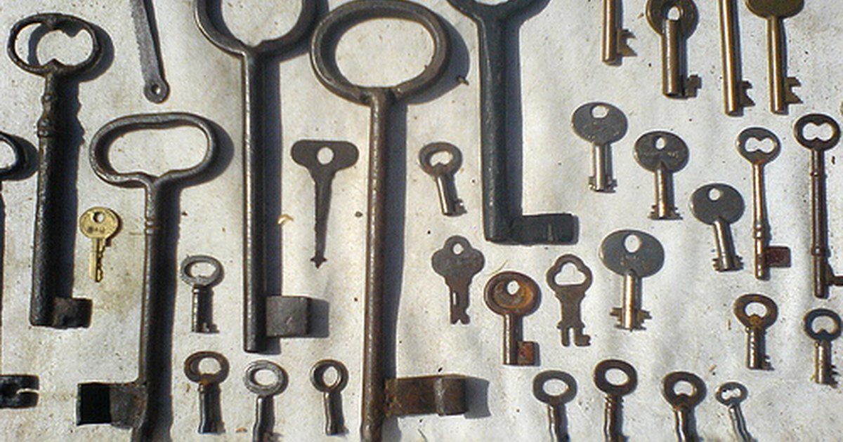 types of antique keys