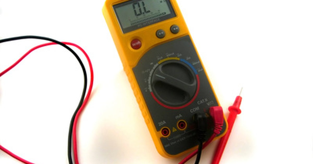 How to test a thermocouple for continuity ehow uk for How to check ac motor