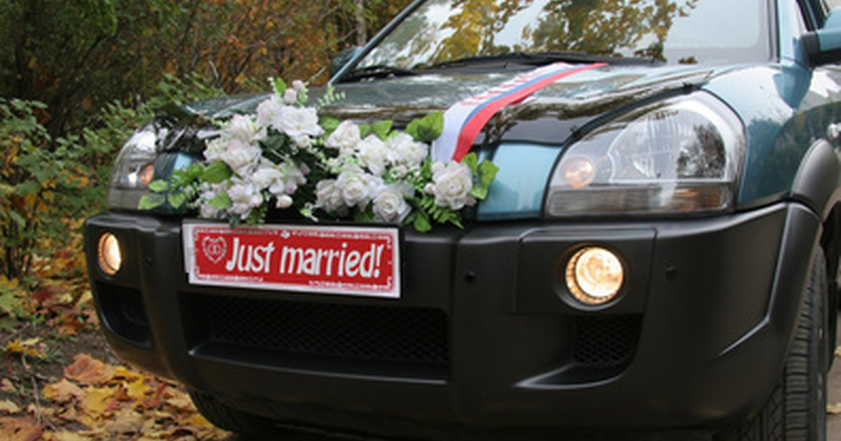 Diy Wedding Car Decoration Ehow Uk
