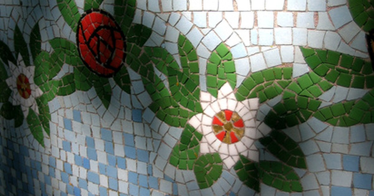 how to make mosaic with tiles