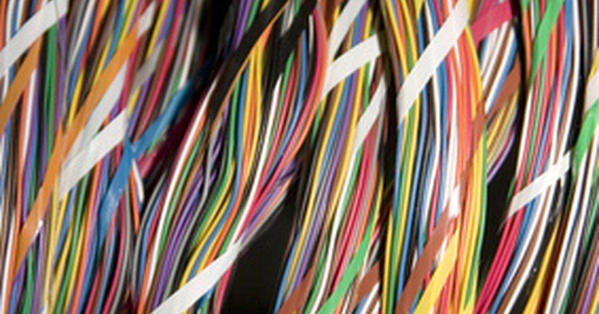 El significado de los cables el ctricos de colores ehow for Cables telefonillo colores