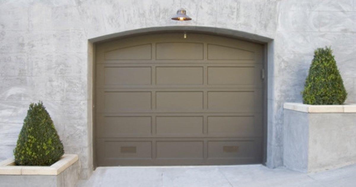 Problemas con una puerta de garaje que no se cierra ehow for Puerta que se cierra sola