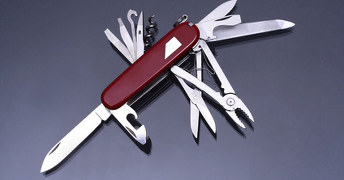 How To Fix A Swiss Army Knife Ehow Uk