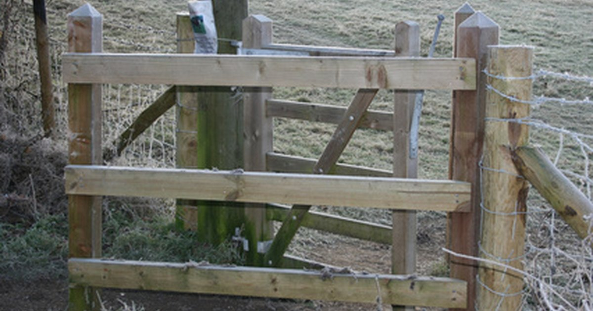 Homemade Gate Latch Ehow