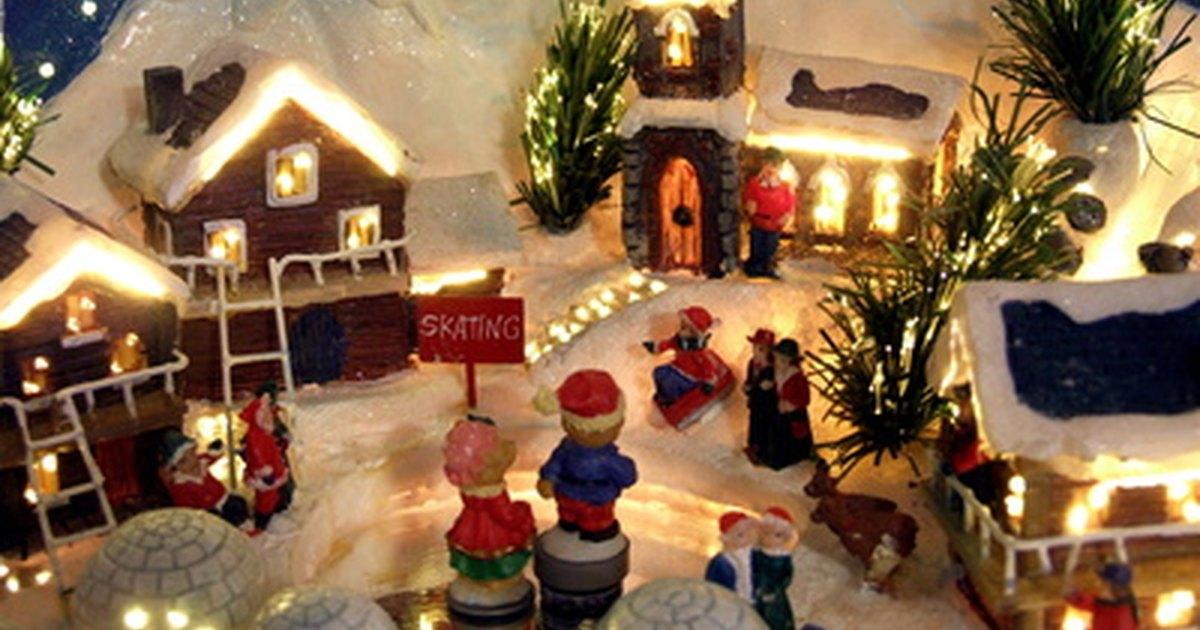 Christmas Village Setup Tips