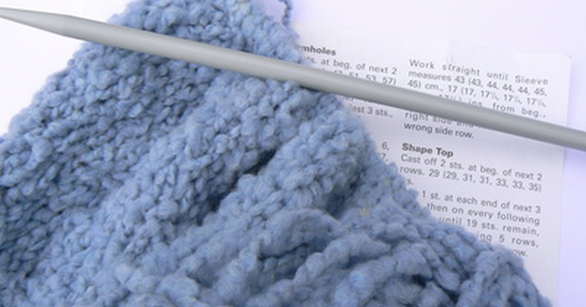 Knitting How To Cast On Stitches At The End Of A Row : How to Knit Easy Baby Booties for Beginners eHow UK