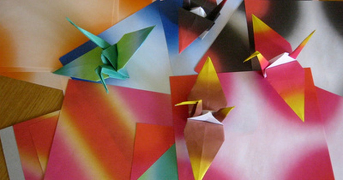 Complicated Origami Diagrams